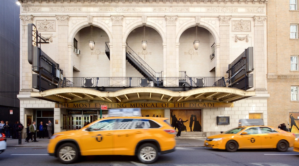 Richard Rodgers Theatre featuring heritage elements