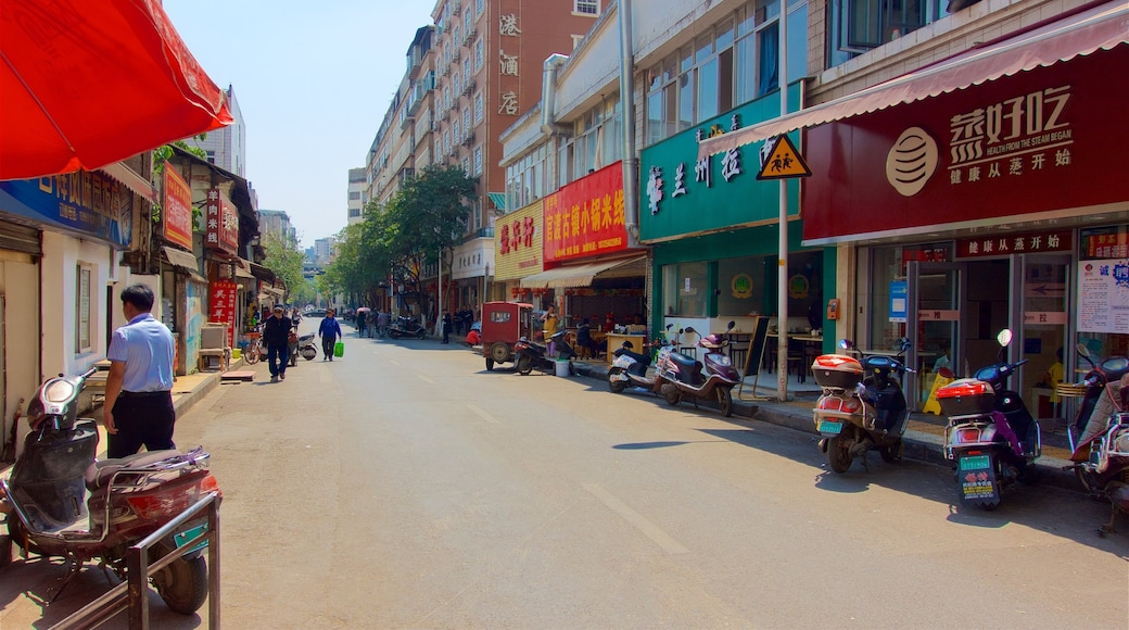 Kunming which includes a city