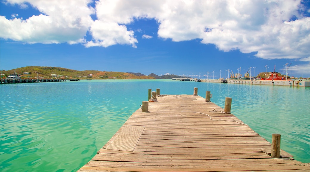 St. John\'s featuring a bay or harbour