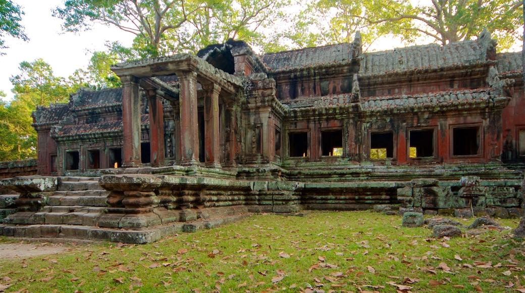吳哥窟 设有 花園, 廟宇或禮拜堂 和 傳統元素