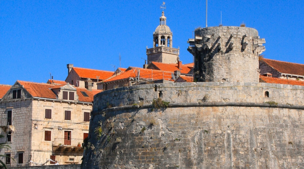 Korcula featuring heritage elements