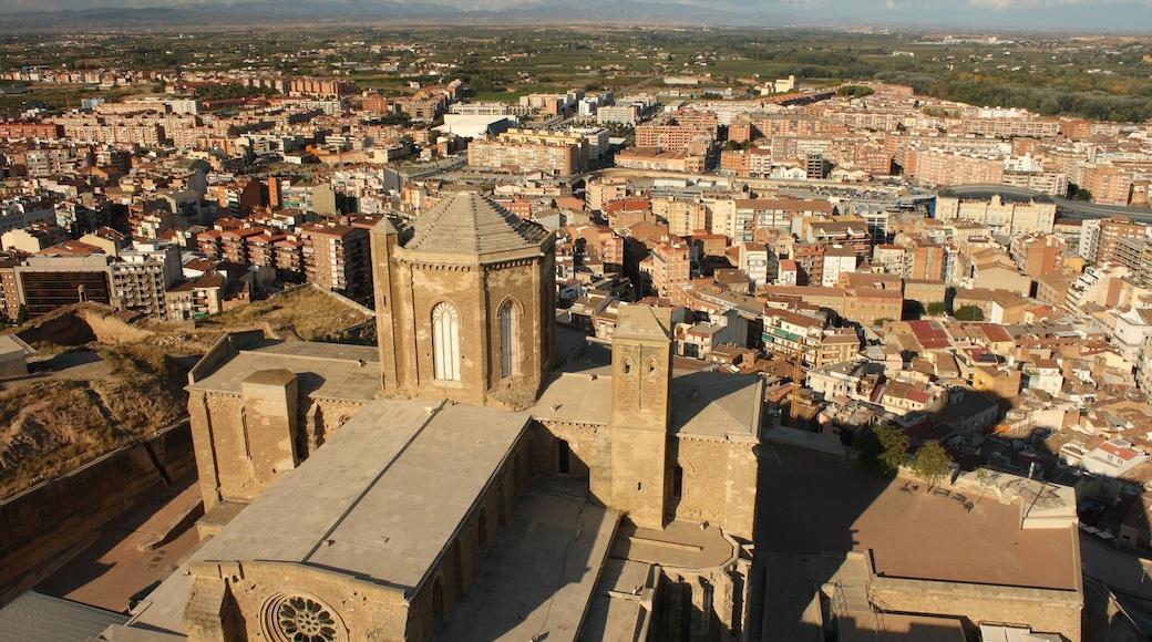Lleida toont een stad, landschappen en historisch erfgoed