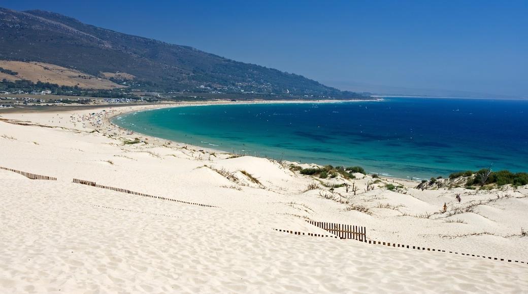 Tarifa featuring a beach and general coastal views