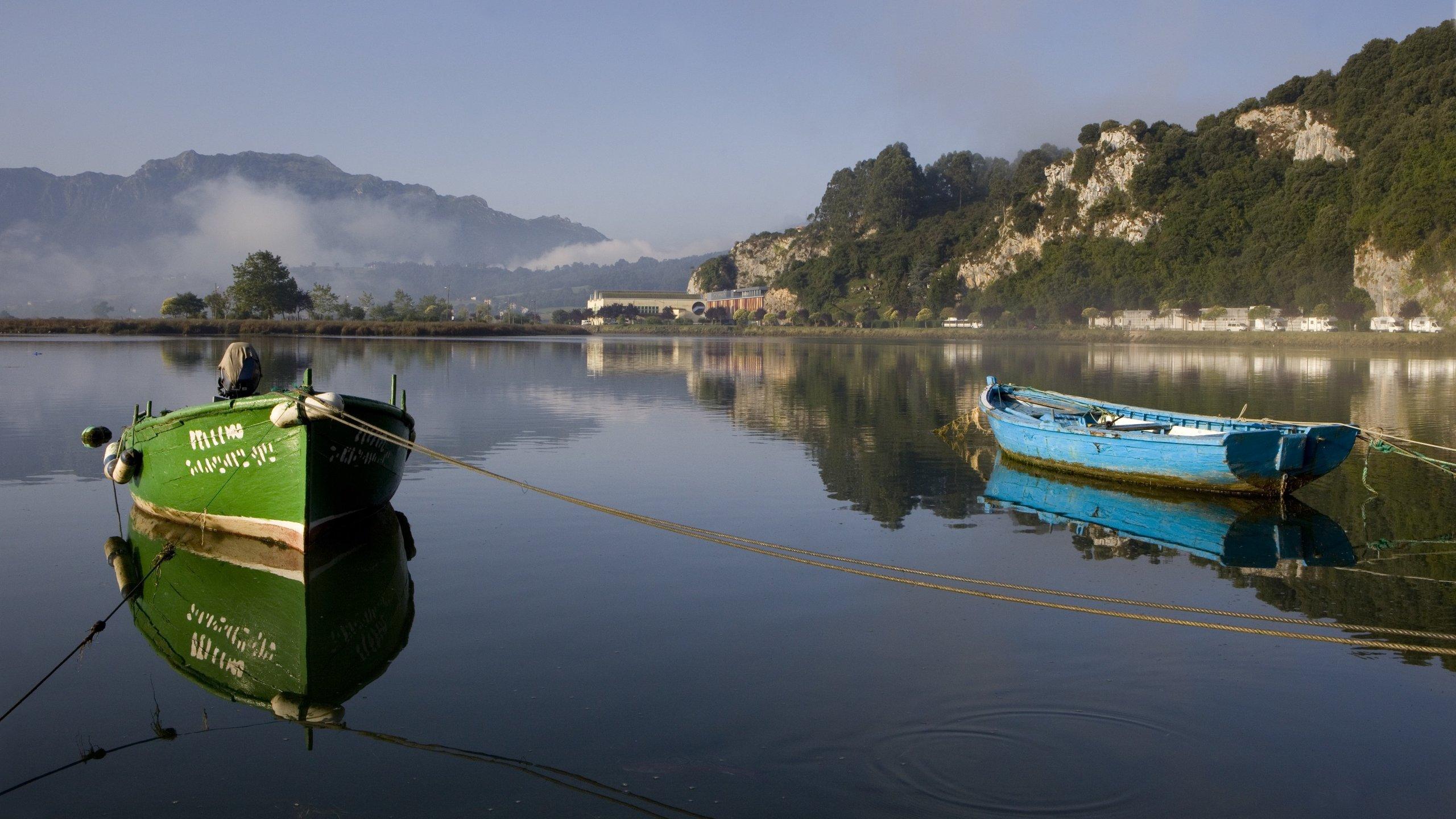 Ribadesella, Asturias, Spanien