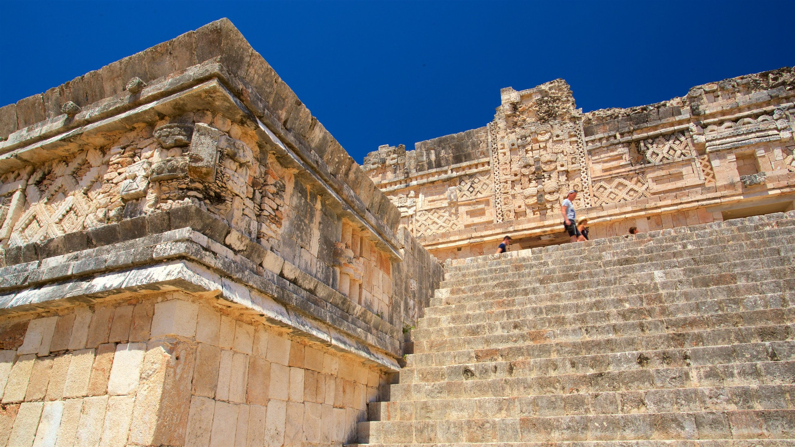 Learn about the local history of Uxmal when you take a trip to Uxmal Archaeological Site. While in this relaxing area, you can savor the local chocolate shops and restaurants.