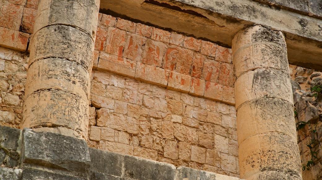 Templo del Barbado & Templo de los Jaguares y Escudos mettant en vedette patrimoine historique