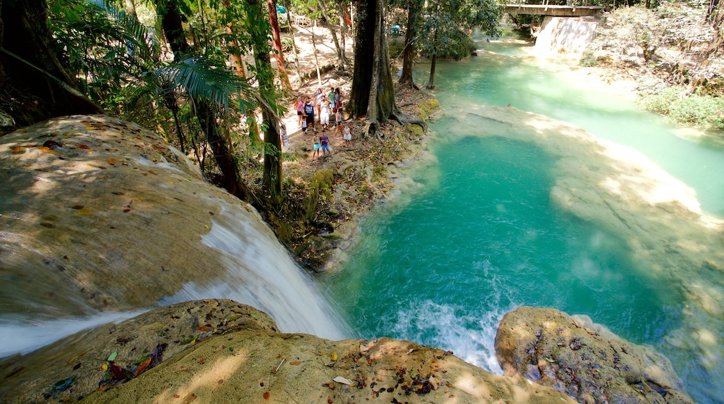 Cascada de Roberto Barrios showing a river or creek and a cascade