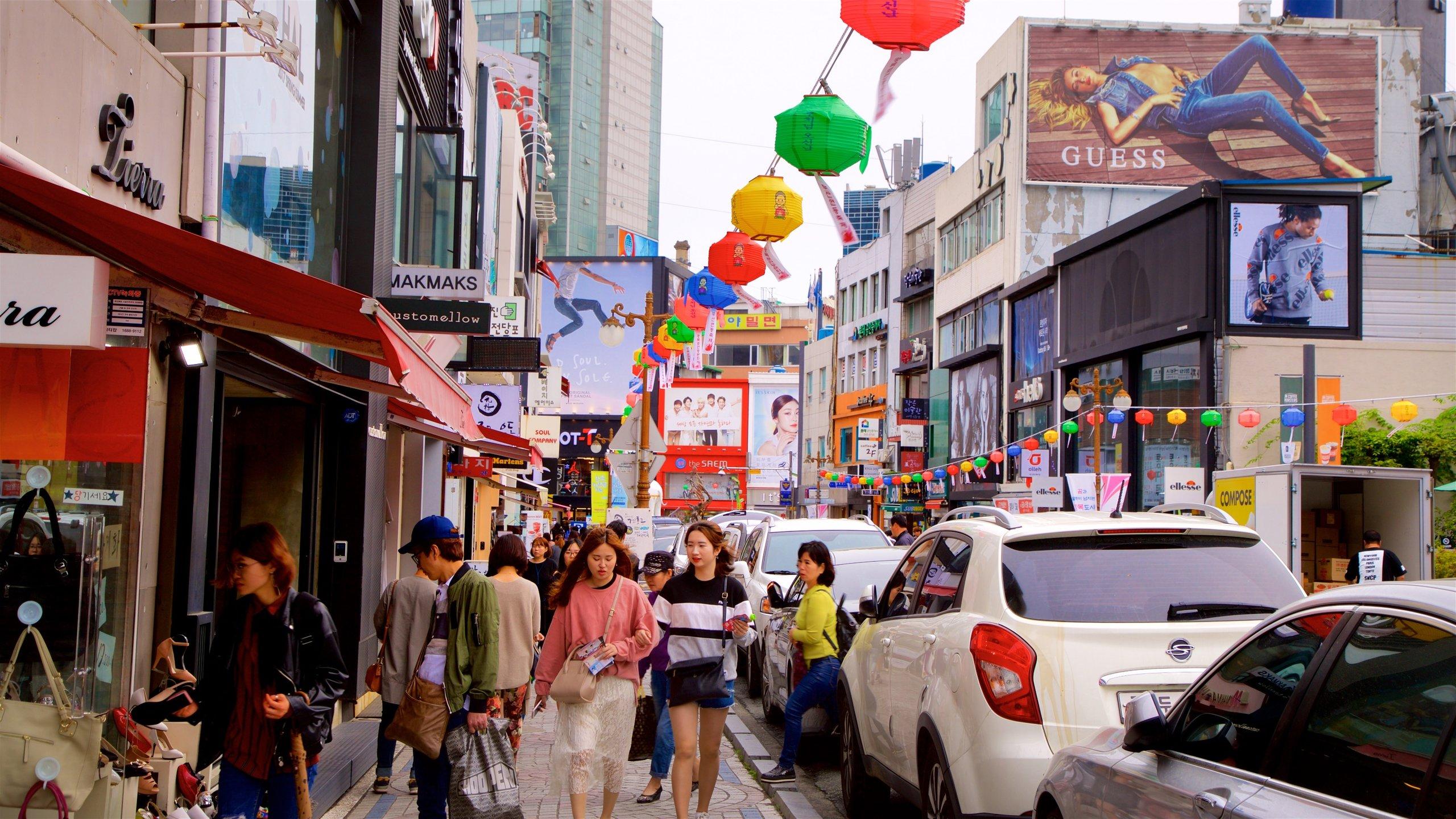 Gwangbok-ro Kultur- og Modegade, Busan, Sydkorea