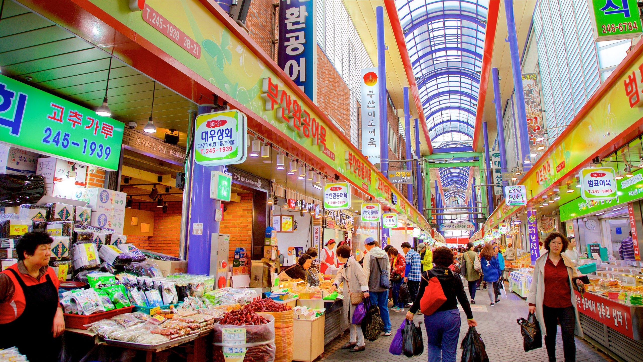 Gukje Markt, Busan, Südkorea
