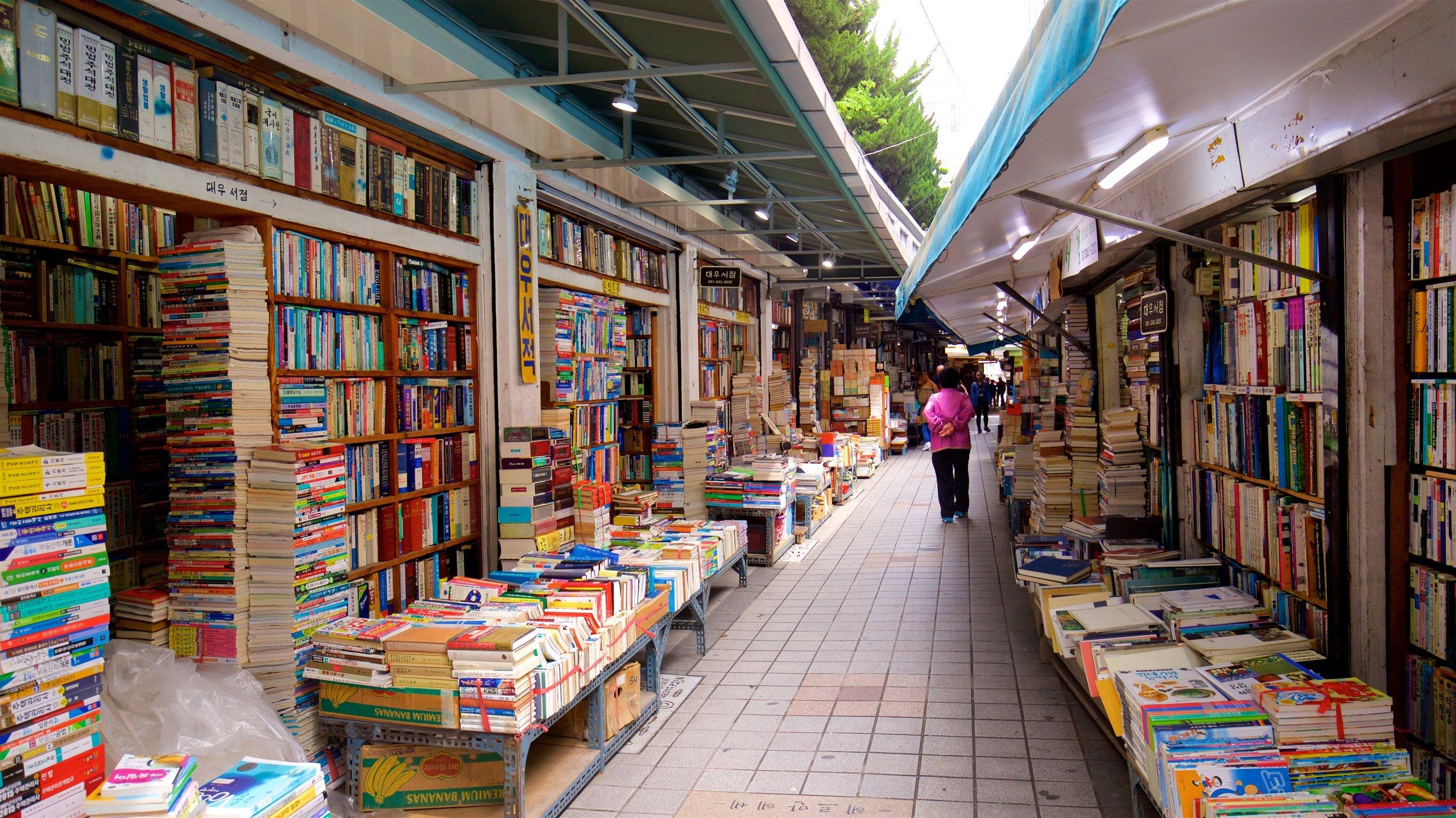 Bosu-Dong Book Gade, Busan, Sydkorea