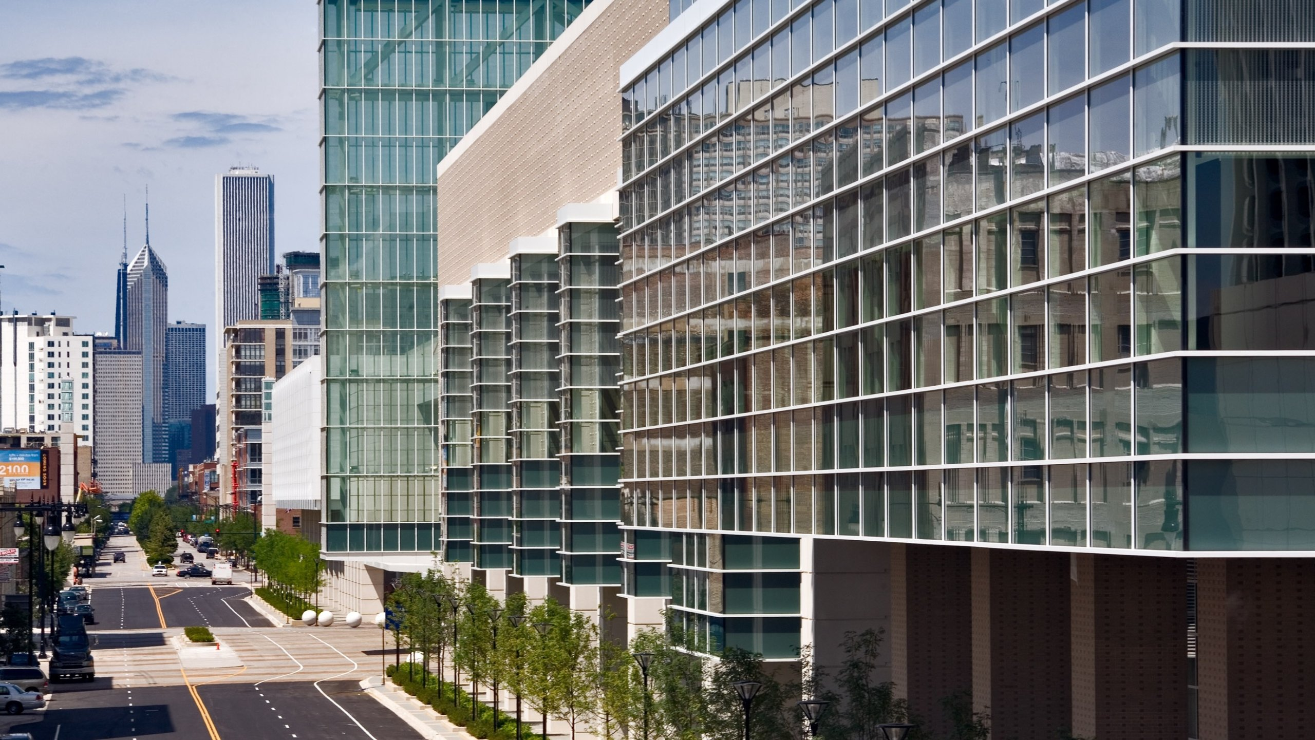 Attend an event at the United States' largest convention center, which features hyper-modern facilities and huge exhibition spaces connected by promenades and sky bridges.