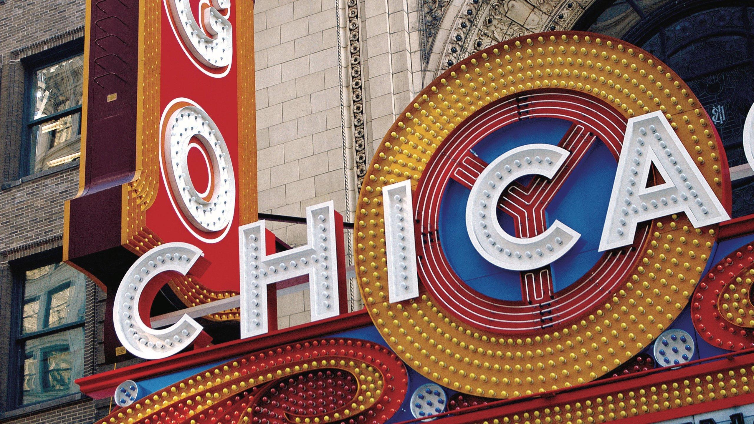 Chicago Theatre, Chicago, Illinois, Stati Uniti d'America