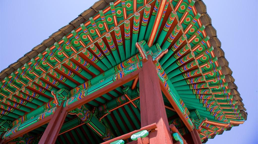 Forte Hwaseong caracterizando elementos de patrimônio