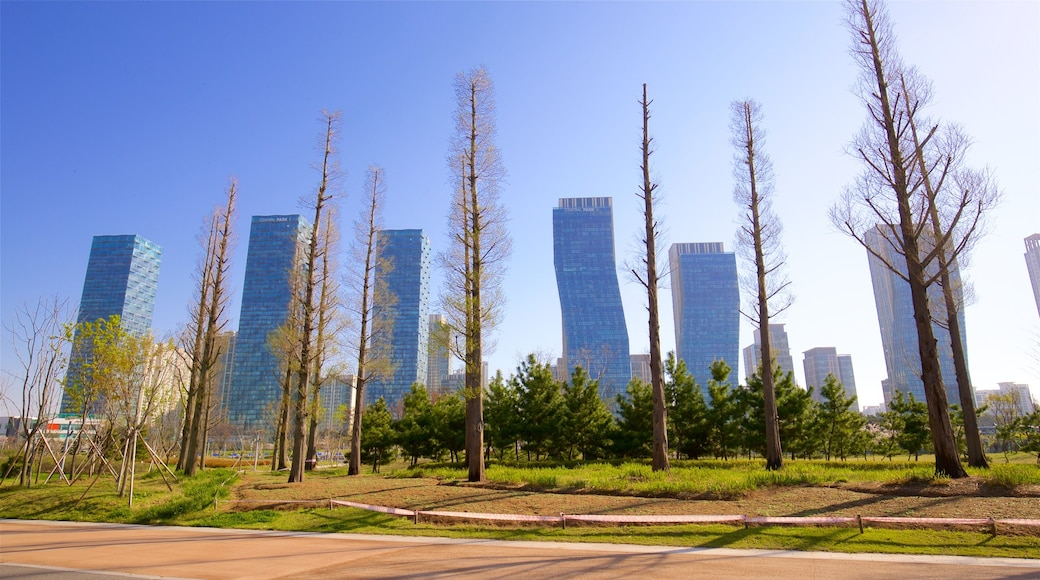 松島中央公園 其中包括 山水美景, 城市 和 高樓大廈
