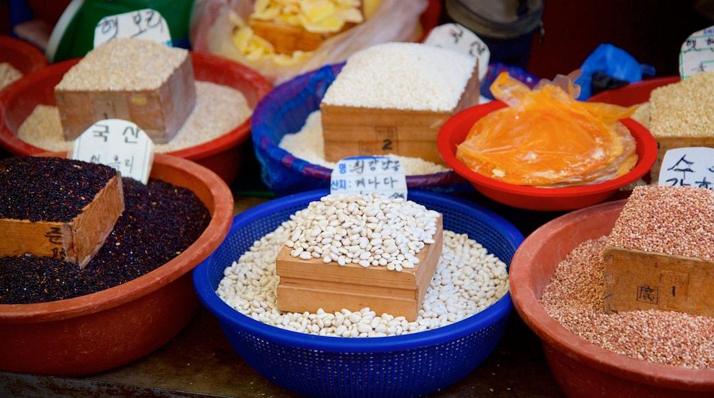 Ganghwa que inclui mercados e comida