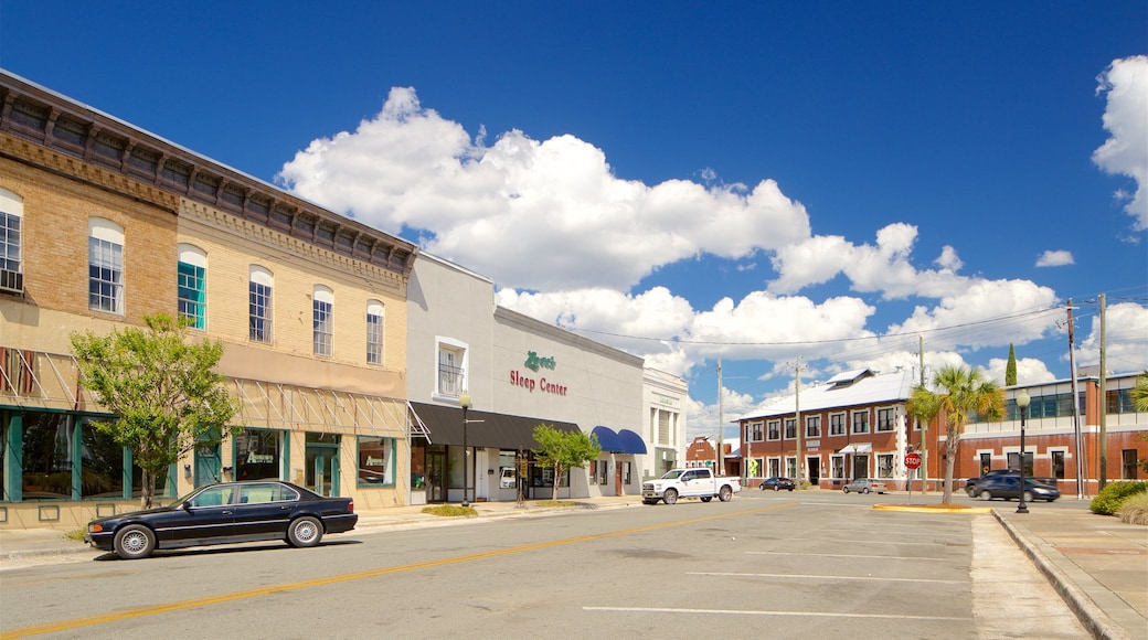 Waycross featuring a small town or village