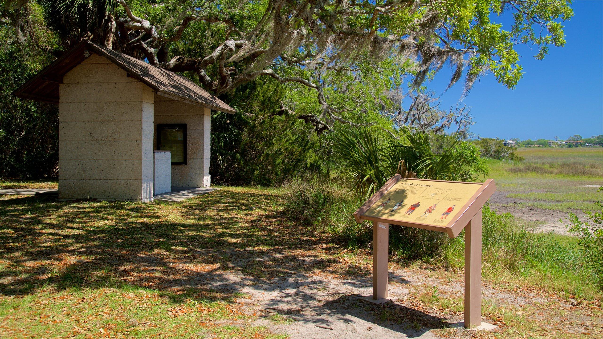 Bloody Marsh Battle Site, St. Simons Island, Georgia, USA