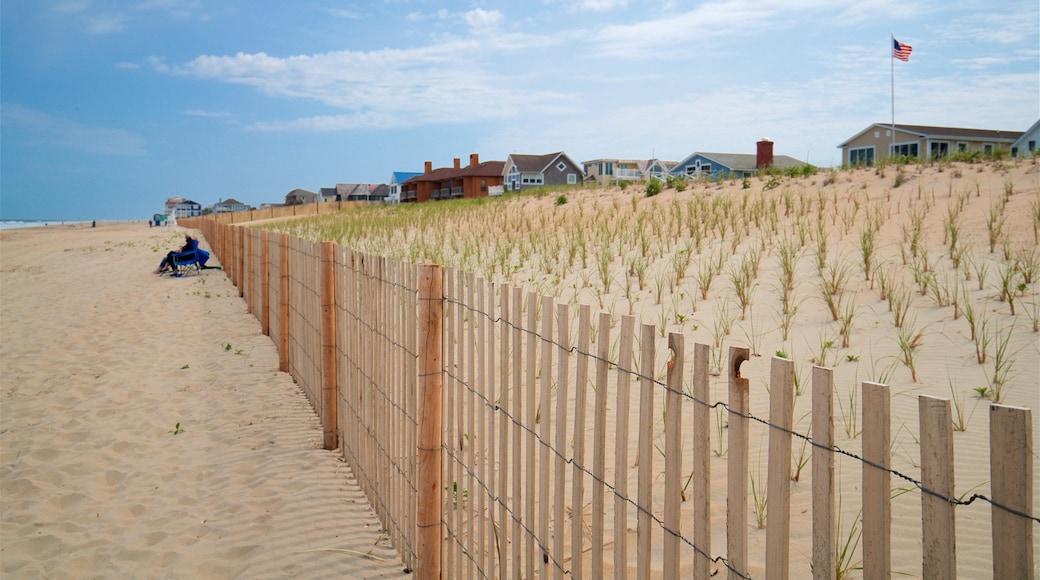 Dewey Beach featuring a beach and general coastal views