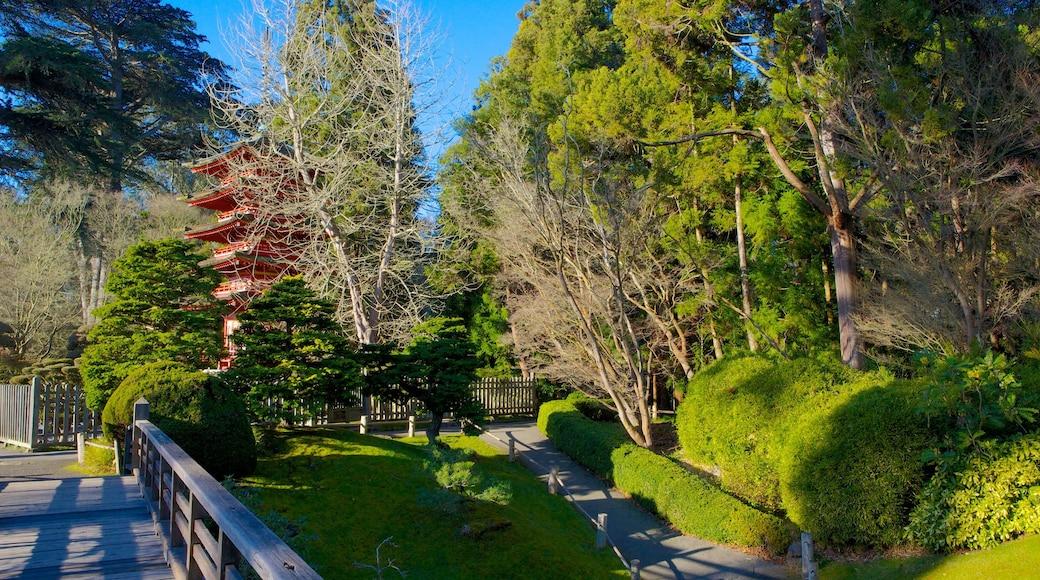 Japanese Tea Garden featuring a park and landscape views