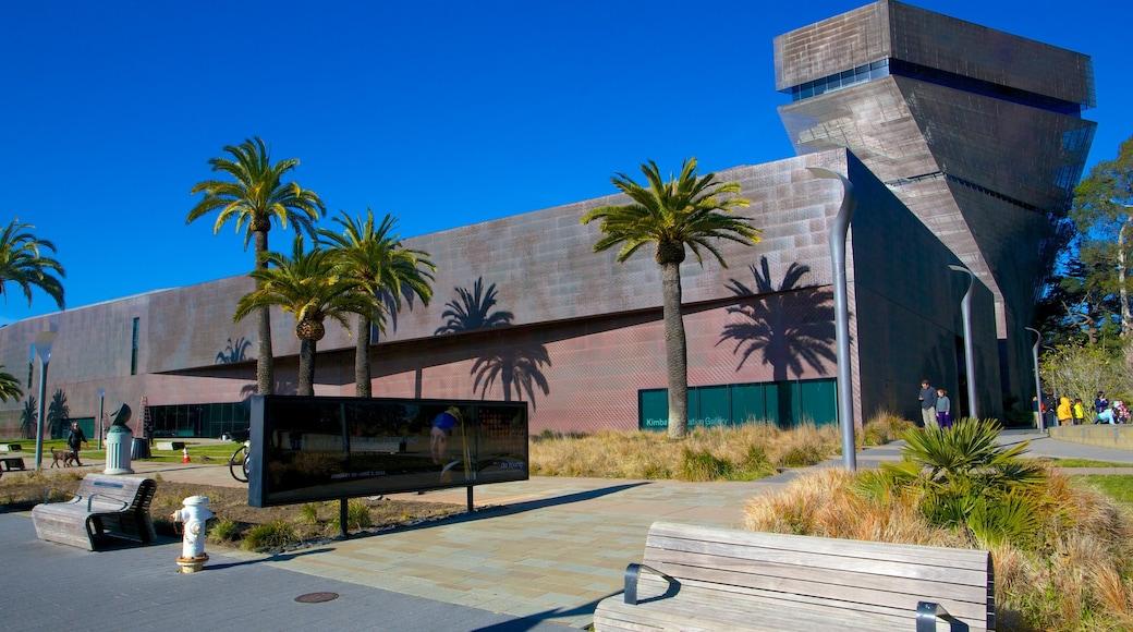 Museo De Young ofreciendo una ciudad
