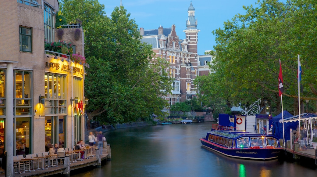 Holland Casino which includes a ferry, a river or creek and a casino