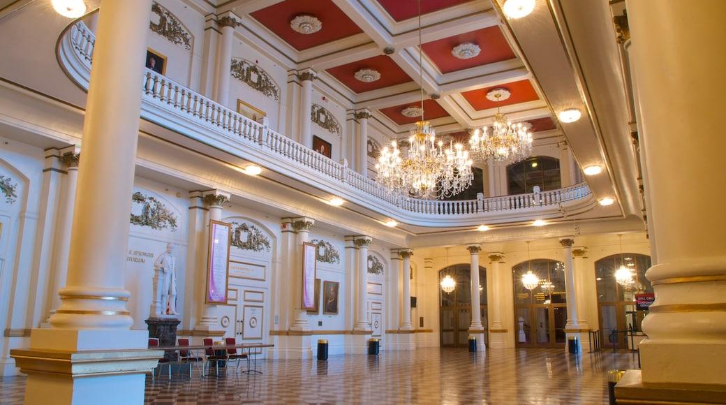 Cincinnati which includes heritage architecture and interior views