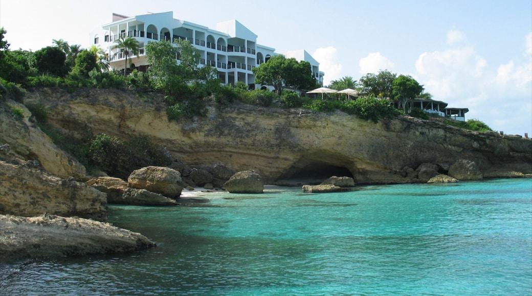 Anguilla showing general coastal views, rocky coastline and tropical scenes
