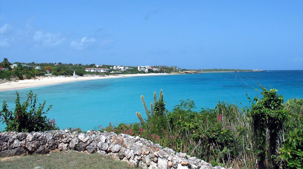 Anguilla which includes general coastal views, tropical scenes and landscape views