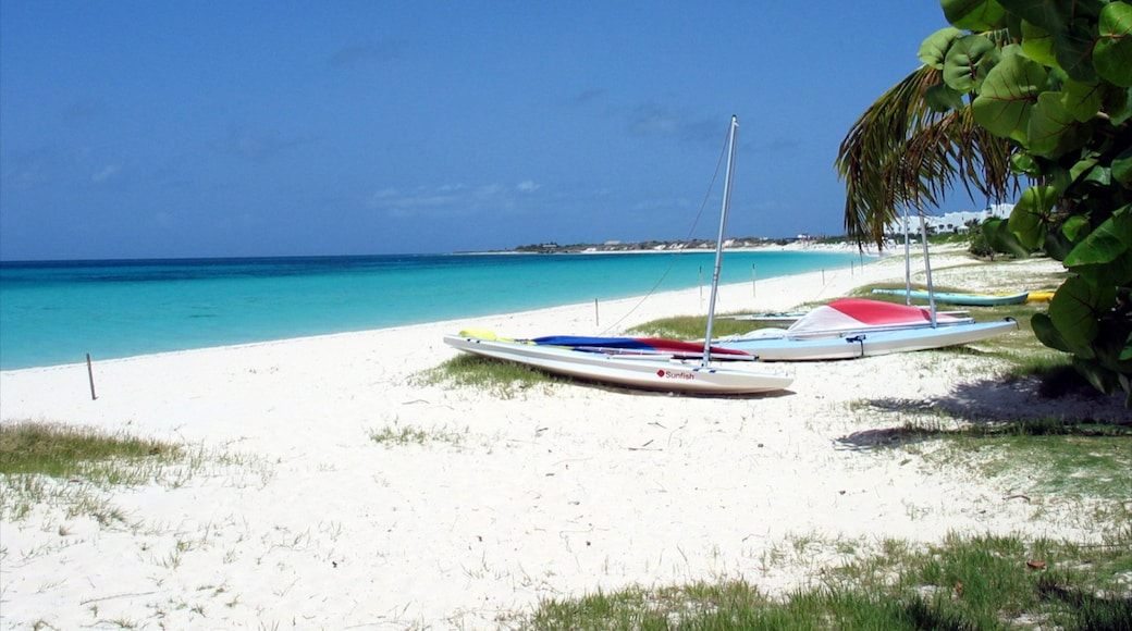 Anguilla showing tropical scenes, a sandy beach and landscape views