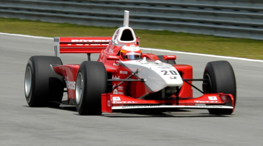 Sepang which includes a sporting event as well as an individual male