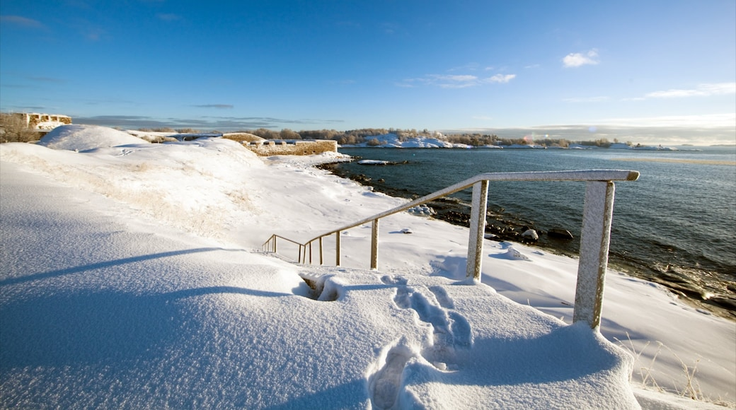 Helsinki which includes a pebble beach, a beach and landscape views