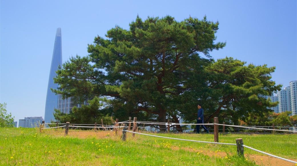 สวนโอลิมปิก ซึ่งรวมถึง เมือง และ สวน