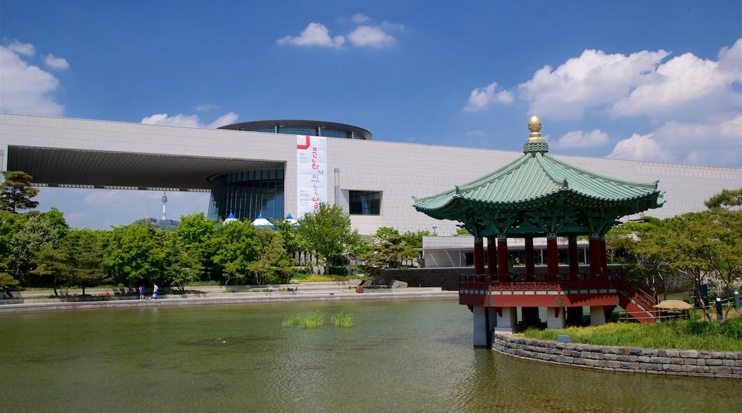 พิพิธภัณฑ์แห่งชาติเกาหลี แสดง บ่อน้ำ และ มรดกวัฒนธรรม