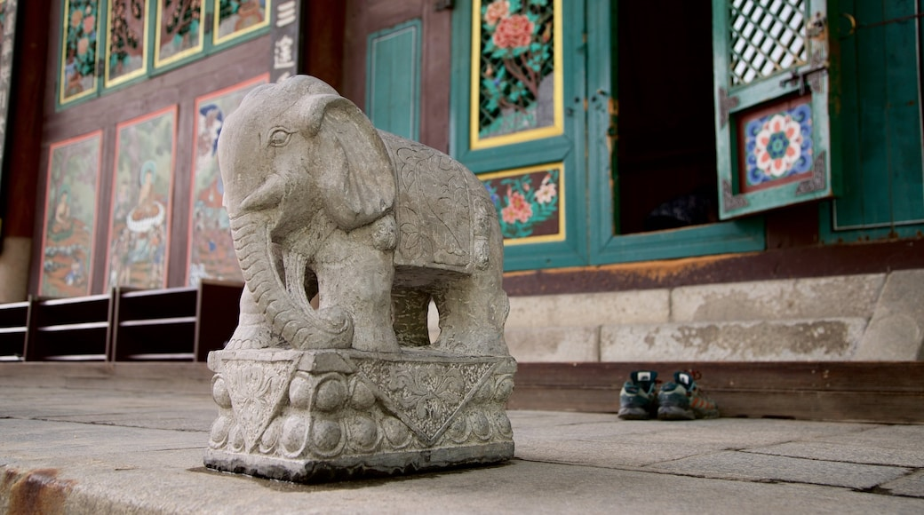 Temple Jogyesa montrant patrimoine historique
