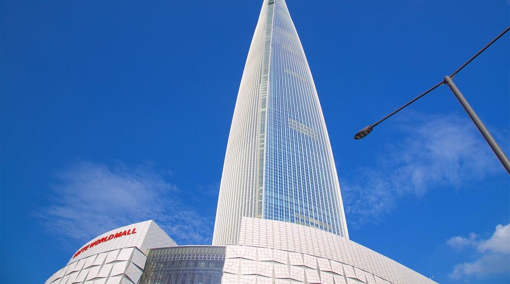 อาคารล็อตเต้ เวิลด์ แสดง ตึกระฟ้า