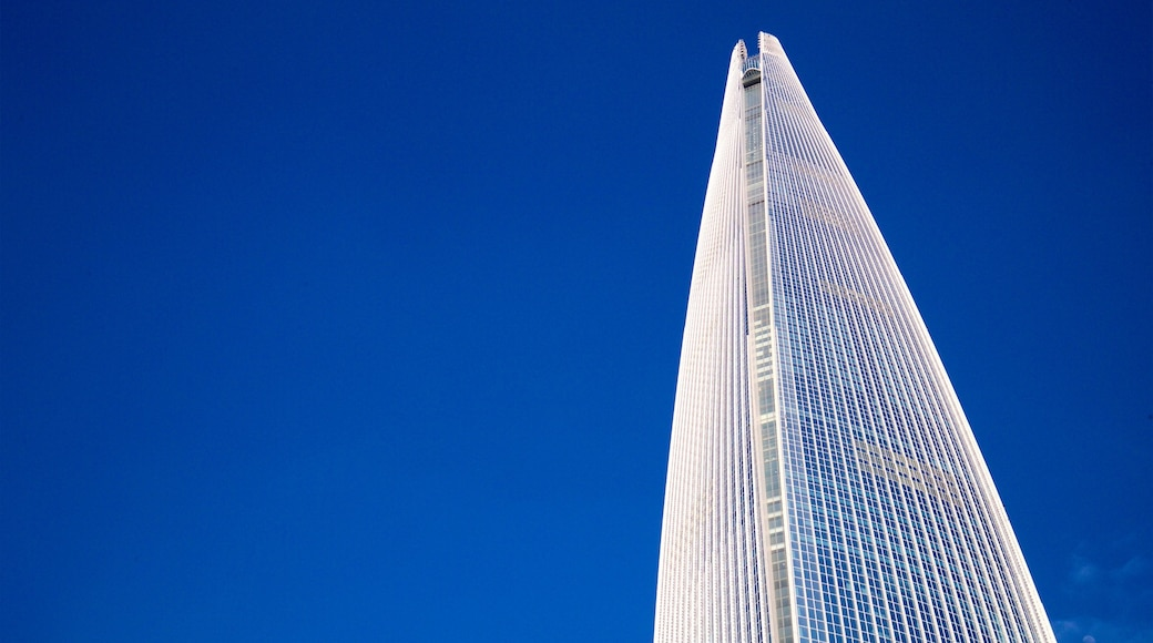 롯데월드타워 을 특징 마천루