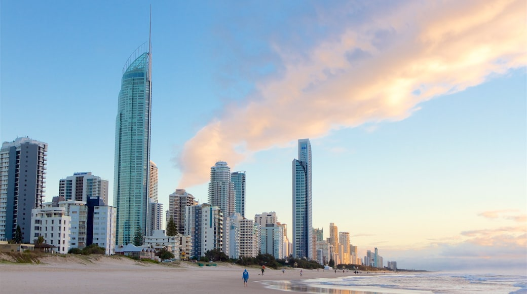 Gold Coast featuring a city, general coastal views and a coastal town