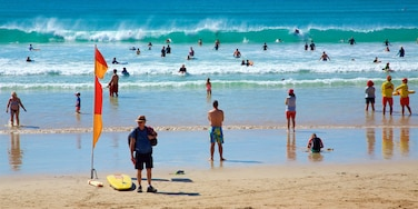 Great Ocean Road featuring a sandy beach, general coastal views and waves