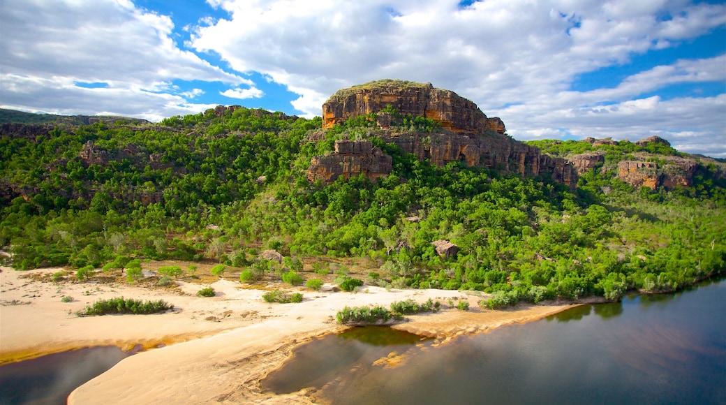 Australia featuring mountains and a beach