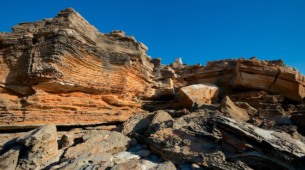 Broome which includes a gorge or canyon