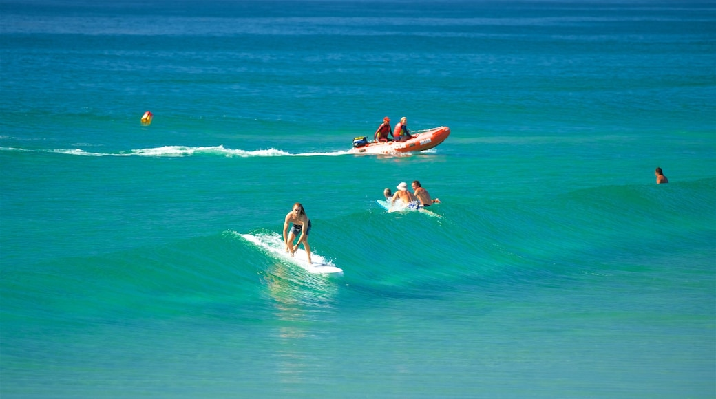 Byron Bay featuring surf, surfing and swimming