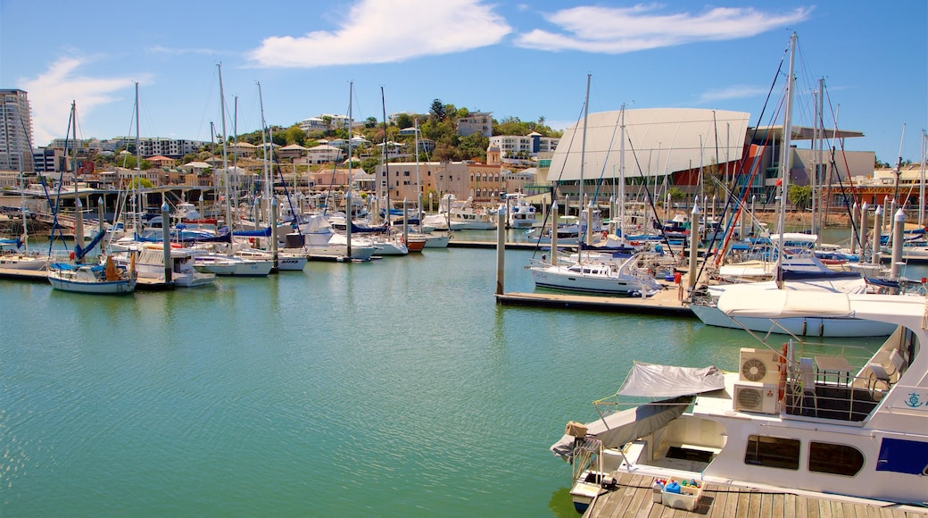 Queensland which includes a bay or harbour