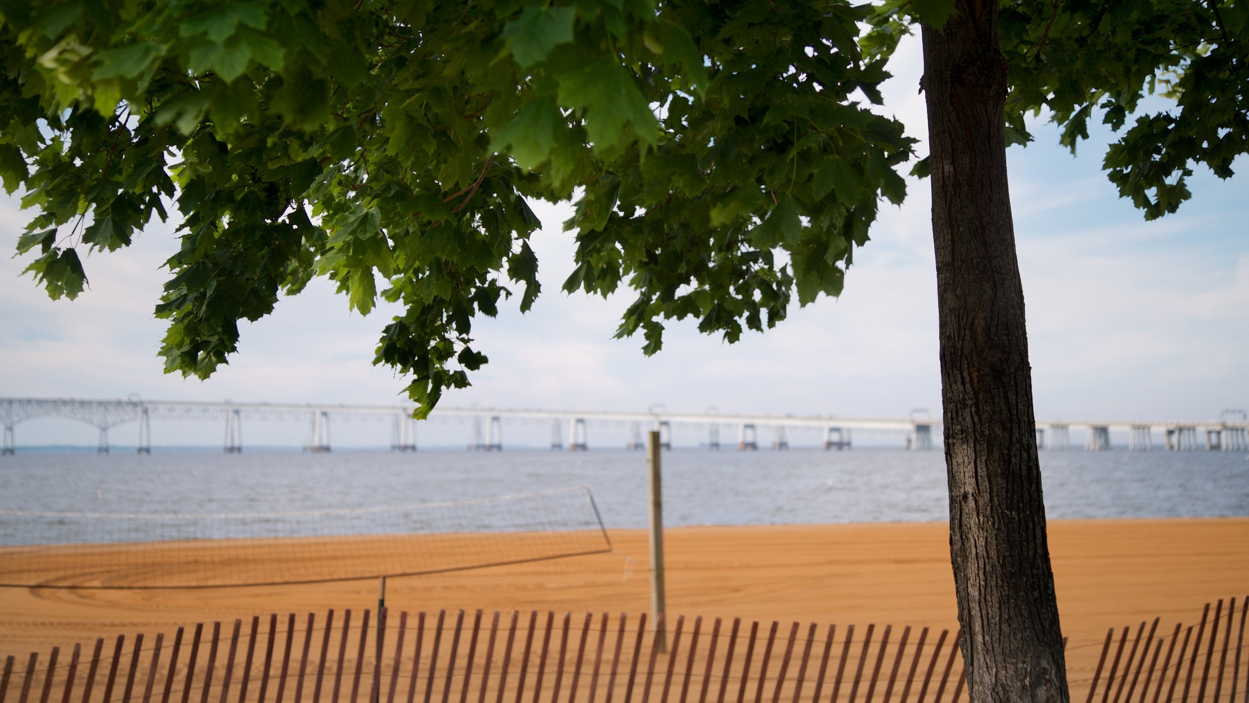 Sandy Point State Park, Annapolis, Maryland, United States of America