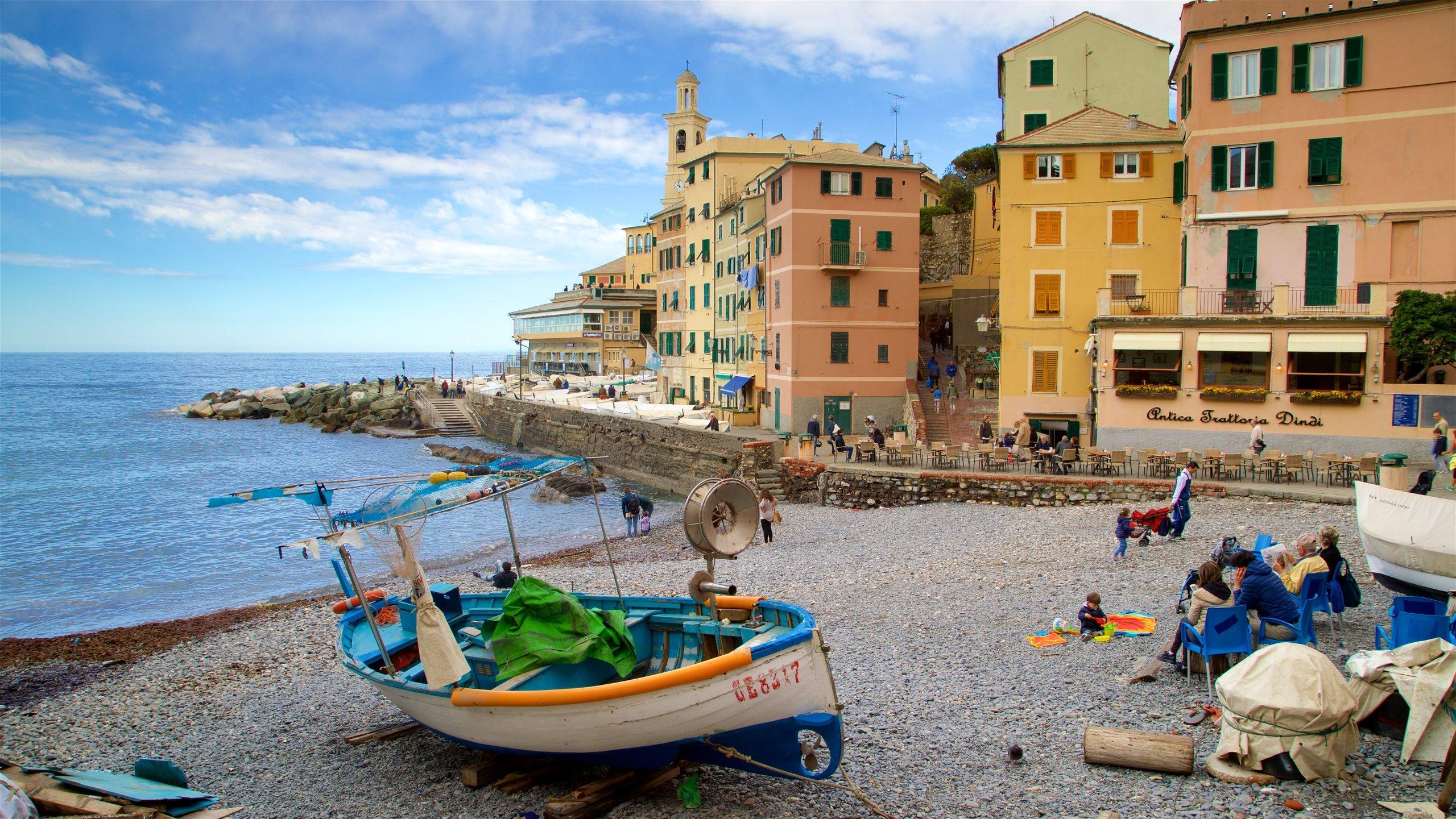 Boccadasse, Genova, Ligurië, Italië