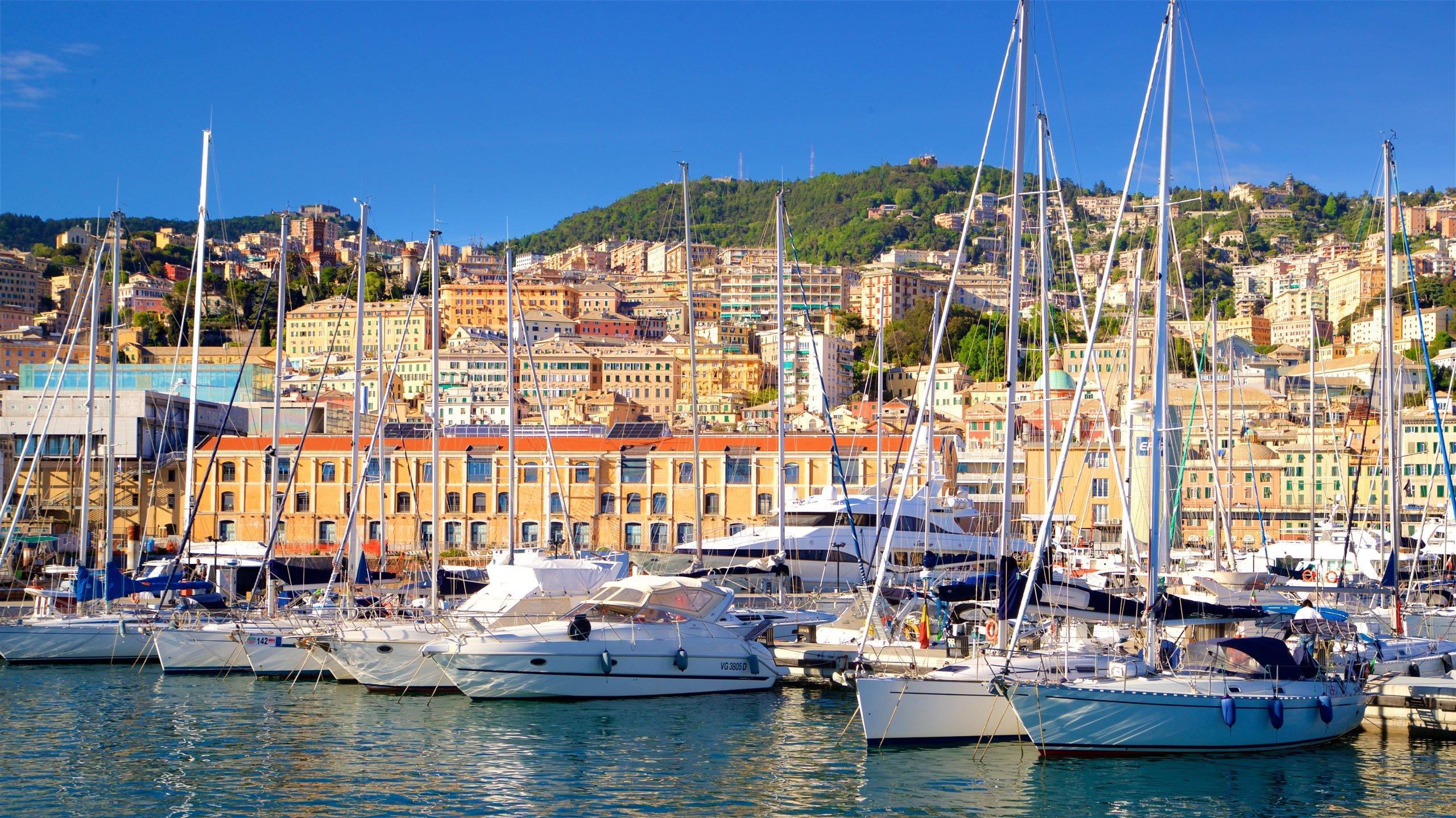 Questa fiorente zona di Genova vanta un ricco patrimonio culturale, splendidi musei, un porto trafficato e varie strutture ricreative in una piacevole atmosfera.