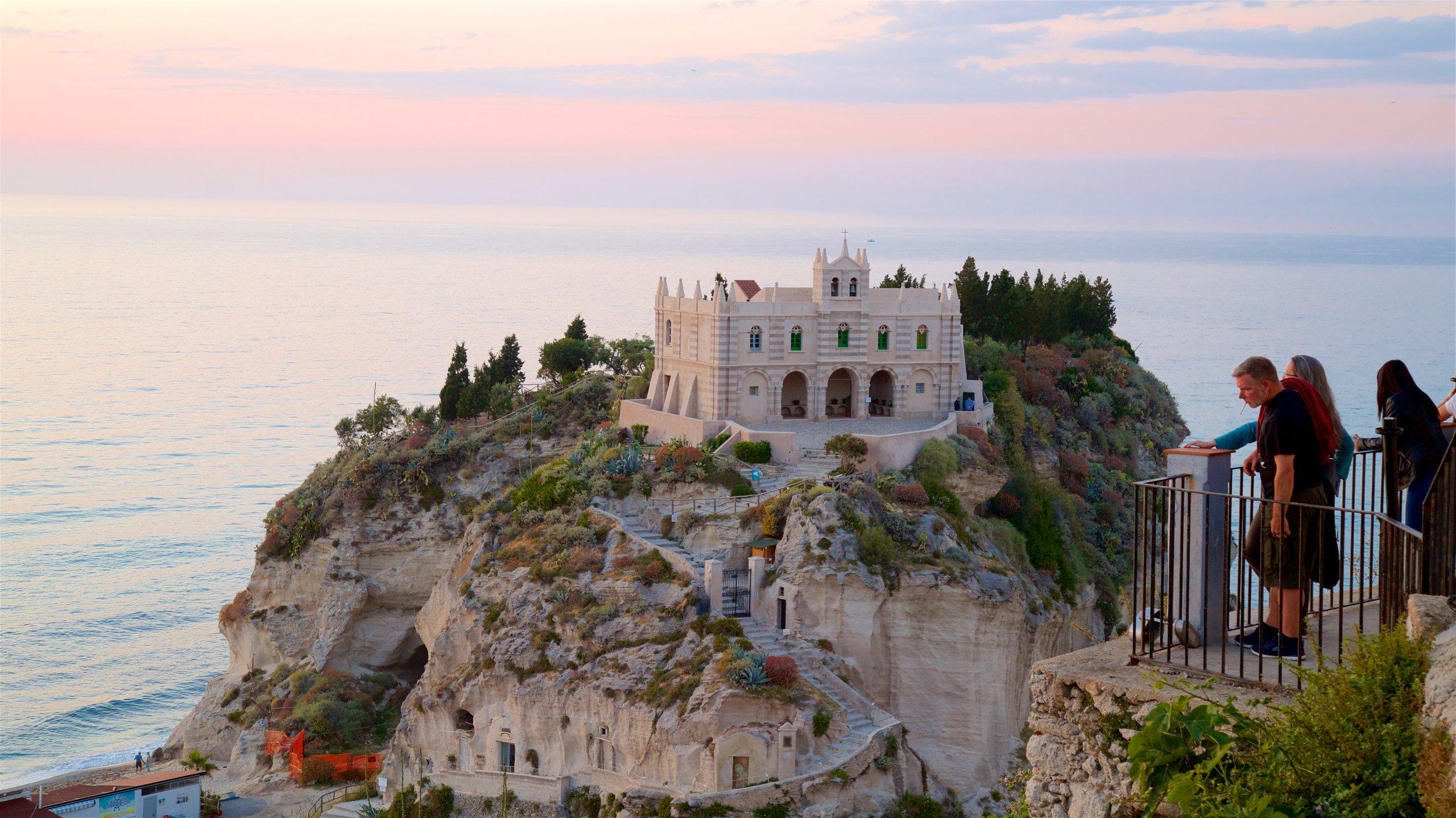 Santa Maria dell'Isola Monastery, Tropea, Calabria, Italy