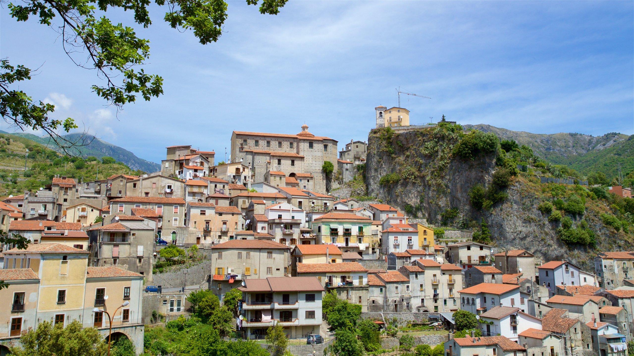 Papasidero, Calabrië, Italië