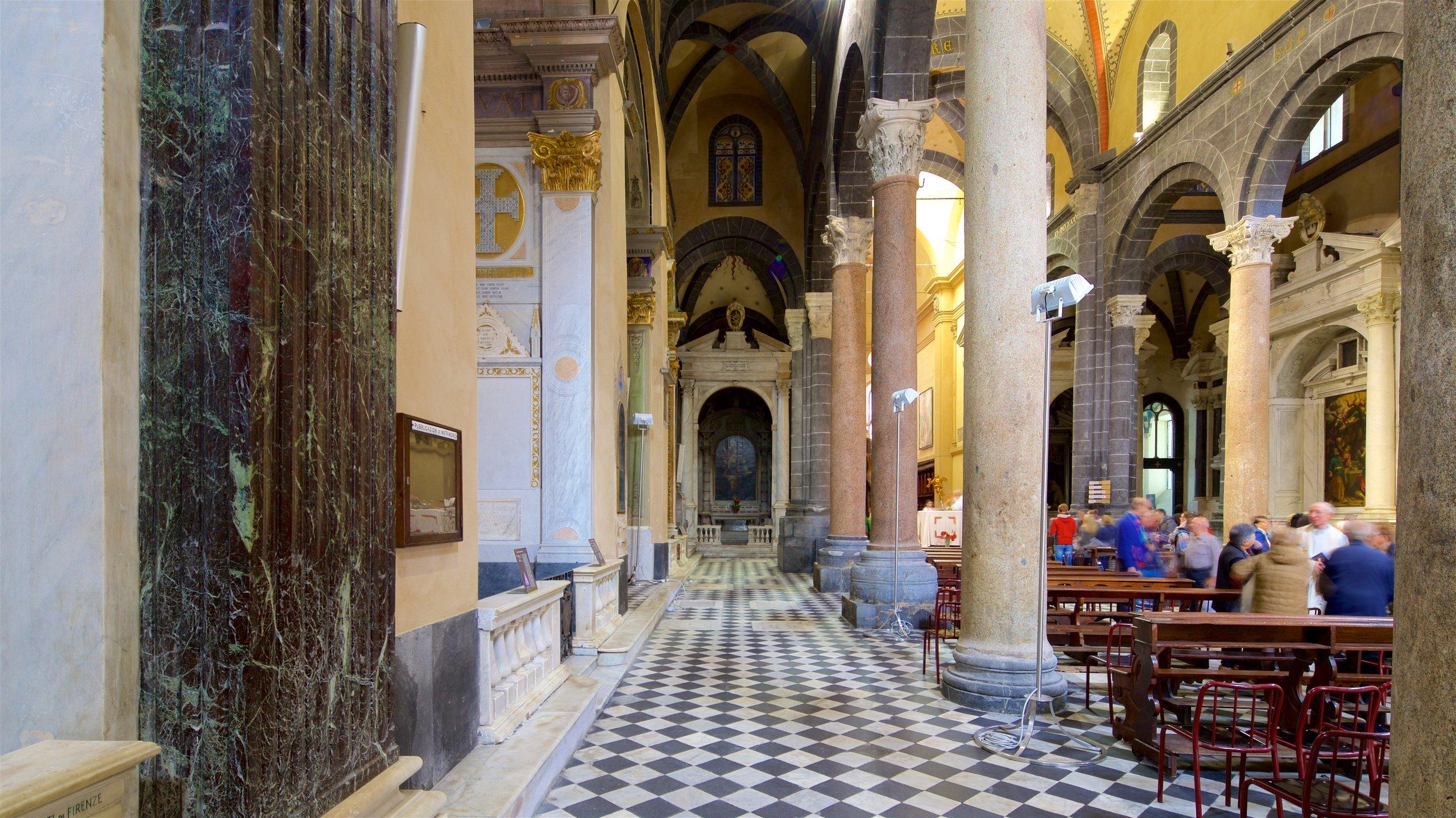 Santa Maria di Castello, Genova, Ligurië, Italië