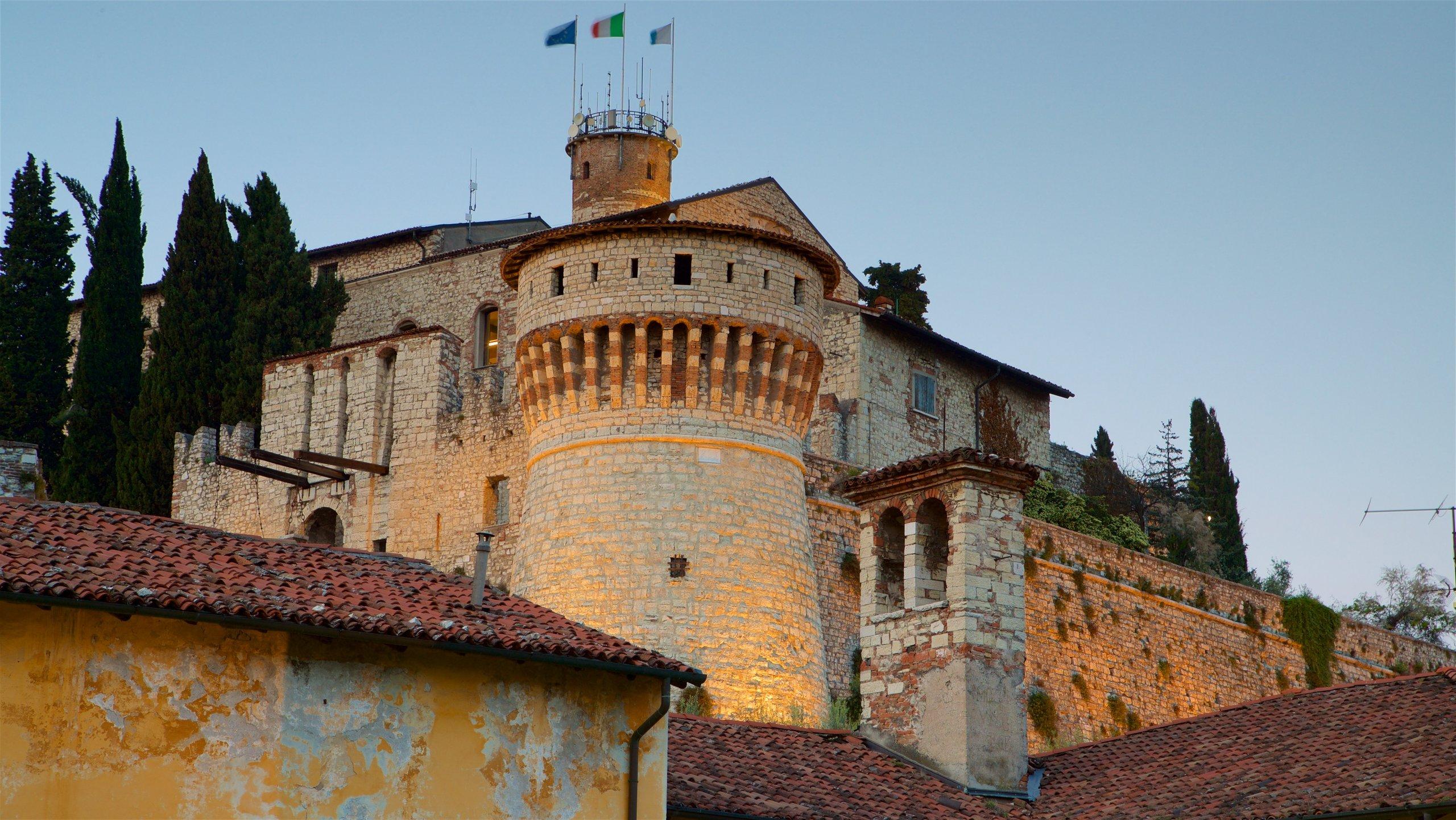 Brescia Castle, Brescia, Lombardy, Italy