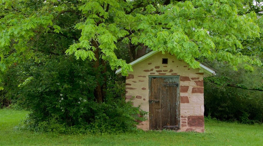 Princeton Battlefield State Park caracterizando elementos de patrimônio